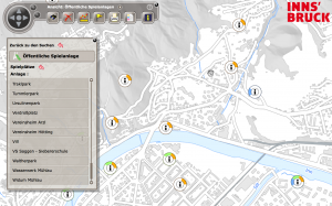Stadtplan Spielpatz
